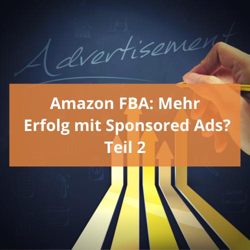 Amazon FBA Sponsored Ads